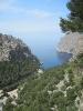 Mallorca 2010-Sa Calobra ... die Bucht von oben
