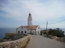 Mallorca 2010-Leuchtturm bei Cala Radjata